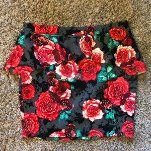 Candies body con peplum skirt •NWT•